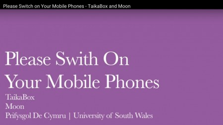 Please Switch On Your Mobile Phones - project report