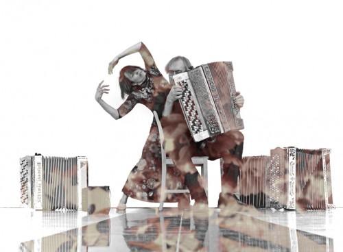 Tanja Raman and Timo Kinnunen improvised duet